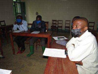 Survey team members undergo training led by GRACE Educators.